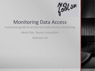 Monitoring Data Access