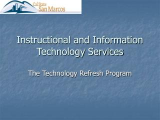 Instructional and Information Technology Services