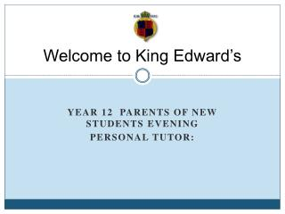 Welcome to King Edward's