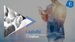 Corporate Presentation for STARTUP s