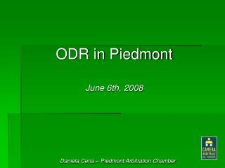 ODR in Piedmont June 6th, 2008