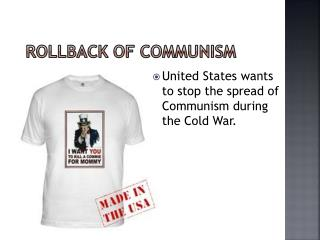 Rollback of Communism