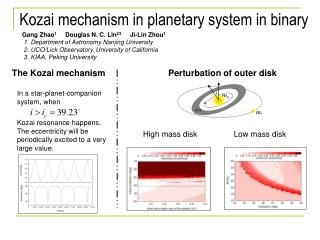 Kozai mechanism in planetary system in binary