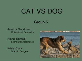 CAT VS DOG Group 5