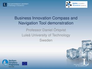 Business Innovation Compass and Navigation Tool demonstration