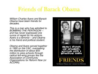 Friends of Barack Obama