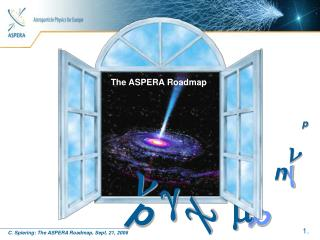 The ASPERA Roadmap