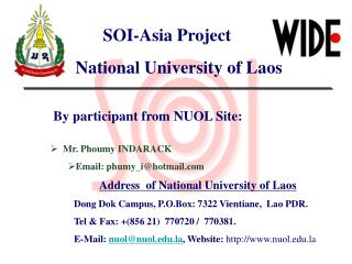 SOI-Asia Project