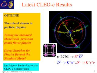Latest CLEO-c Results