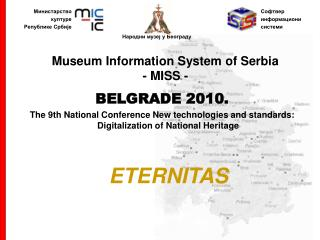 Museum Information System of Serbia -  MISS  -