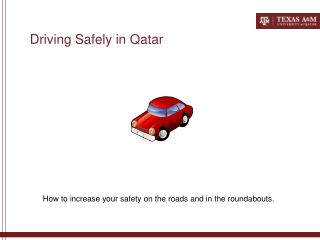 Driving Safely in Qatar