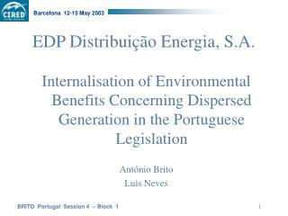 EDP Distribuição Energia, S.A.