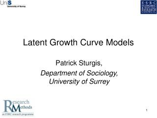 Latent Growth Curve Models