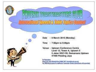 International Speech & Table Topics Contest