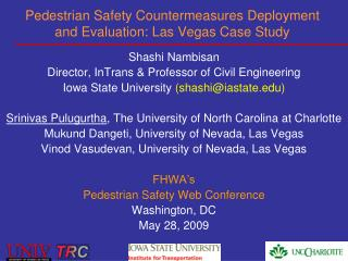 Pedestrian Safety Countermeasures Deployment and Evaluation: Las Vegas Case Study