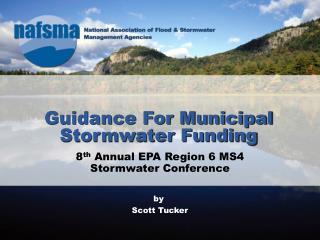 Guidance For Municipal Stormwater Funding