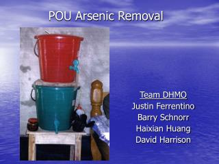 POU Arsenic Removal