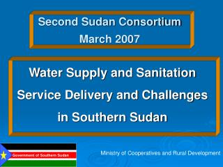 Second Sudan Consortium March 2007