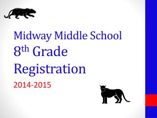 Midway Middle School 8 th  Grade Registration