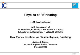 Physics of RF Heating