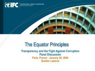 The Equator Principles