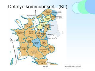 Det nye kommunekort   (KL)