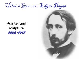 Hilaire Germain  Edgar Degas