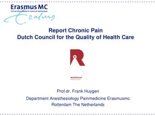 Report Chronic Pain  Dutch Council for the Quality of Health Care