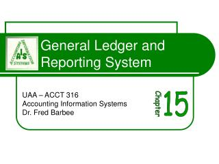 General Ledger and Reporting System