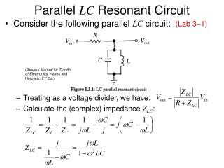 Parallel  LC  Resonant Circuit