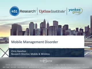 Mobile Management Disorder