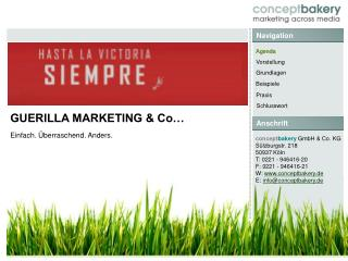 GUERILLA MARKETING & Co…
