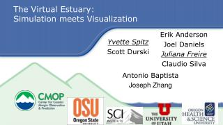 The Virtual Estuary:  Simulation meets Visualization