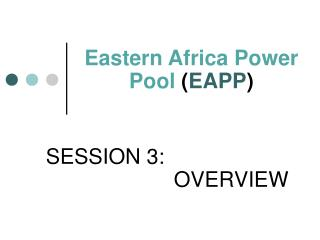 Eastern Africa Power Pool EAPP