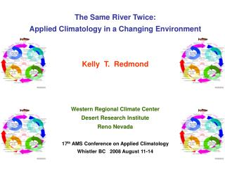 The Same River Twice: Applied Climatology in a Changing Environment Kelly  T.  Redmond