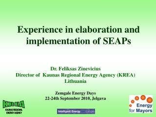 Experience in elaboration and  implementation of SEAPs