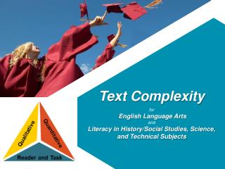 Text Complexity  for English Language Arts  and