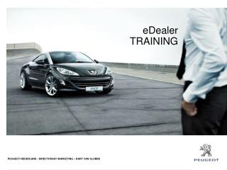 eDealer  TRAINING