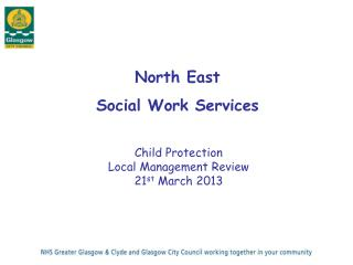 North East  Social Work Services