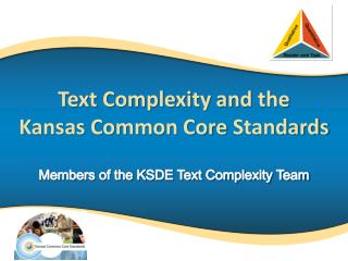 Members of the KSDE Text Complexity Team