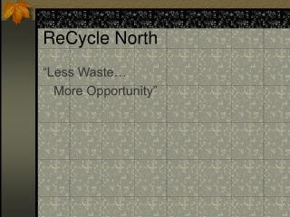 ReCycle North