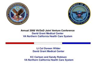 Annual 2008 VA/DoD Joint Venture Conference