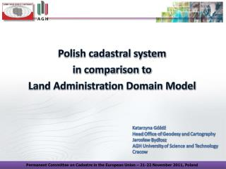 Polish cadastral system  in comparison to  Land Administration Domain Model