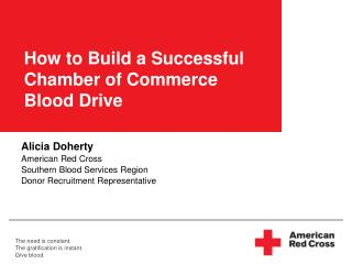 How to Build a Successful Chamber of Commerce  Blood Drive