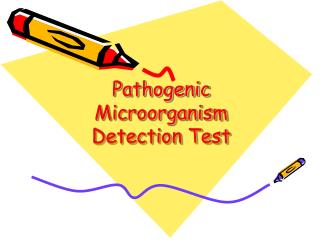 Pathogenic Microorganism Detection Test
