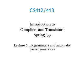 CS412/413