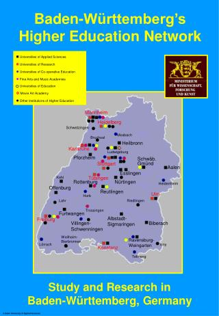 Baden-Württemberg's  Higher Education Network