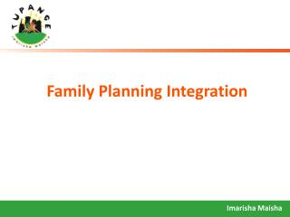 Family Planning Integration