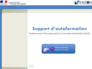 Support d'autoformation