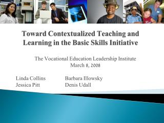 Toward Contextualized Teaching and Learning in the Basic Skills Initiative
